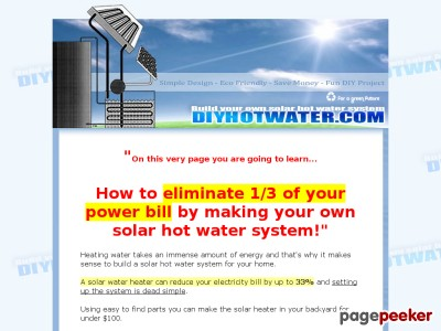 DIY Hot Water – Build a Solar Hot Water System