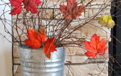 Autumn Porch Decorating Ideas eBook – a 251-page collection of 40 bloggers