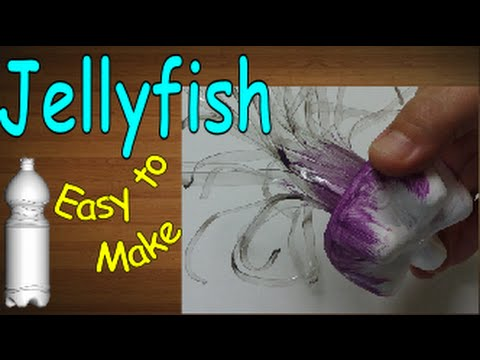 Diy Crafts: Jellyfish out of Plastic Bottle – Recycled Bottles Crafts