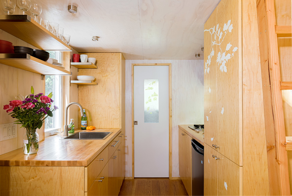 Interior Design kitchen area Tiny House