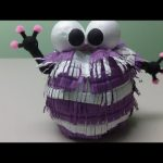 Do-it-yourself Crafts: Purple Monster – Freecycle Bottles Crafts