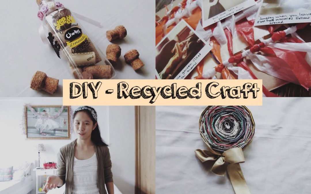 Do-it-yourself: Recycled Craft Tips for Room Decor | Kimomile