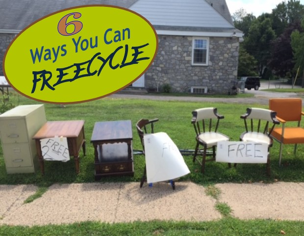 6 Ways to Freecycle
