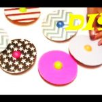 {DIY} CD Spinner Tops #Savetheenvironment #Repurpose