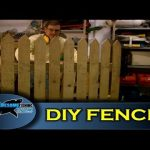 How to build a fence using pallet wood – Cheap, simple & easy!