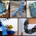 Recycled Denim Craft Ideas – Simple DIY Old Jeans Projects