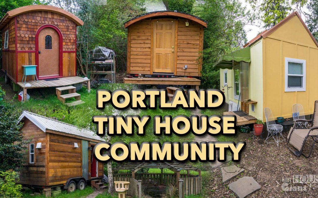 Tiny House Community in Portland