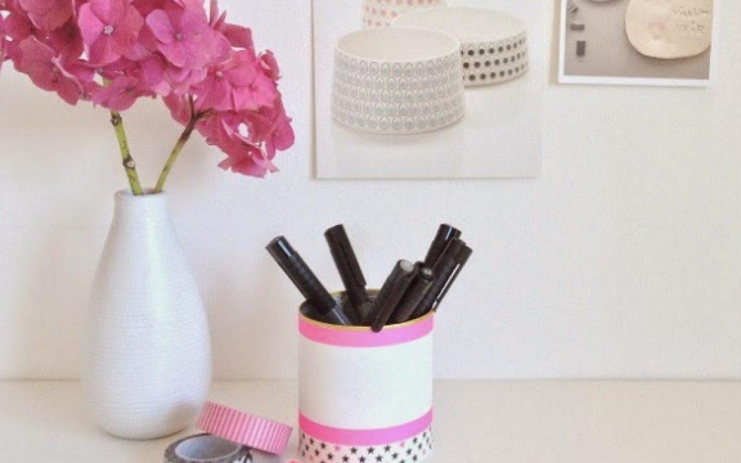 Create a Repurposed Stylish Pen Pot – Home – Guidecentral