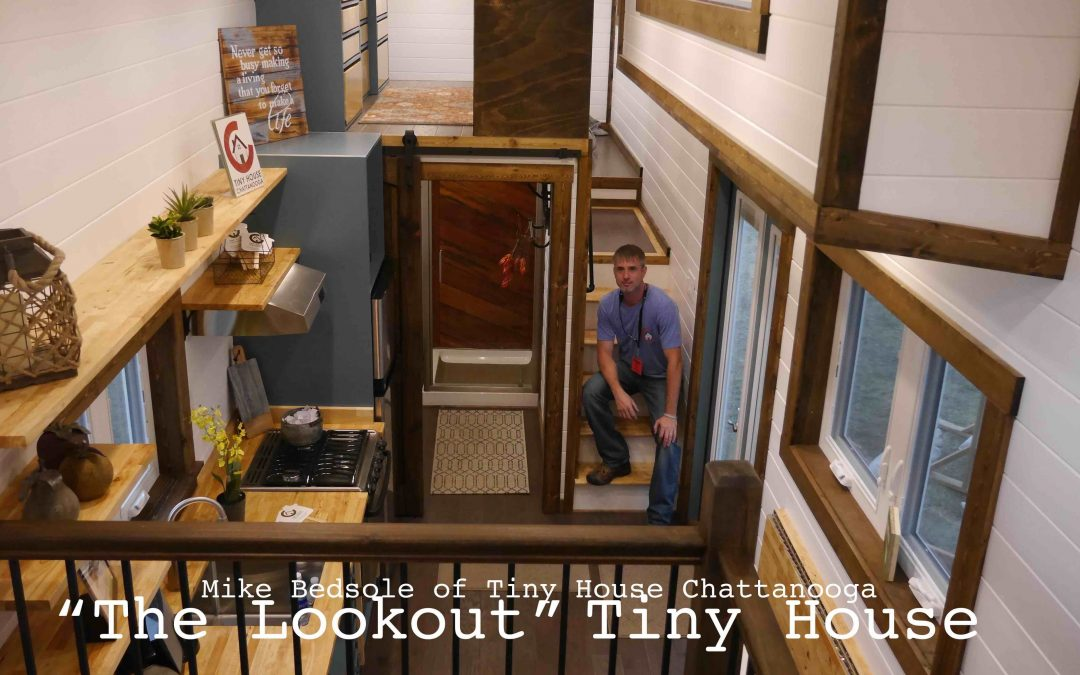 """""""The Lookout"""" Luxury Tiny House- Jamboree 2016 in Colorado Springs"""