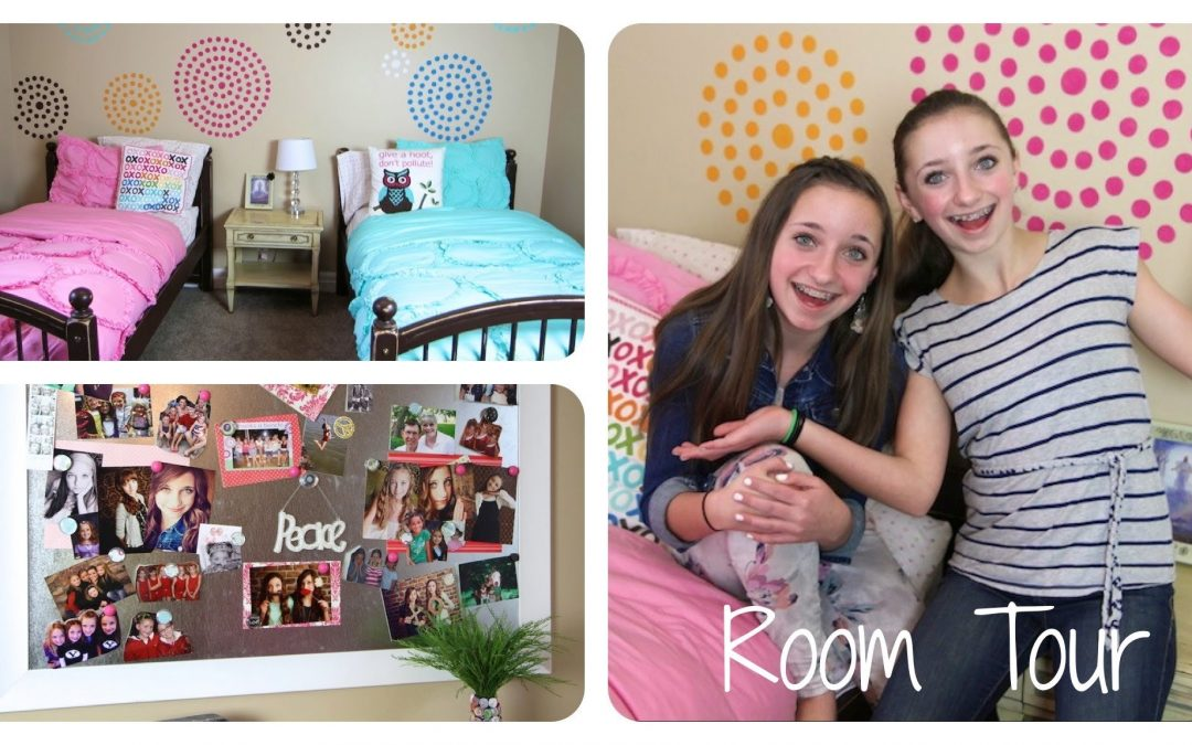 Teen Girl Room Tour | Brooklyn and Bailey