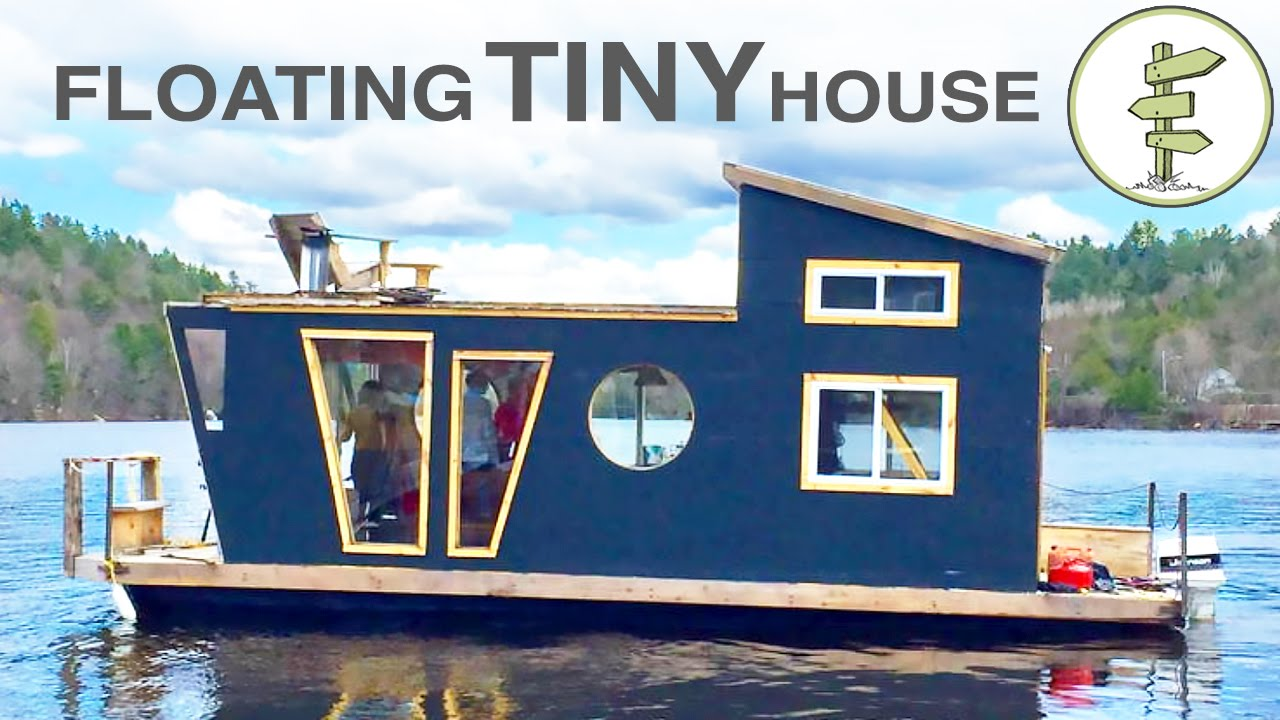 Living on a 4 season houseboat beautiful floating tiny for Create a tiny house online