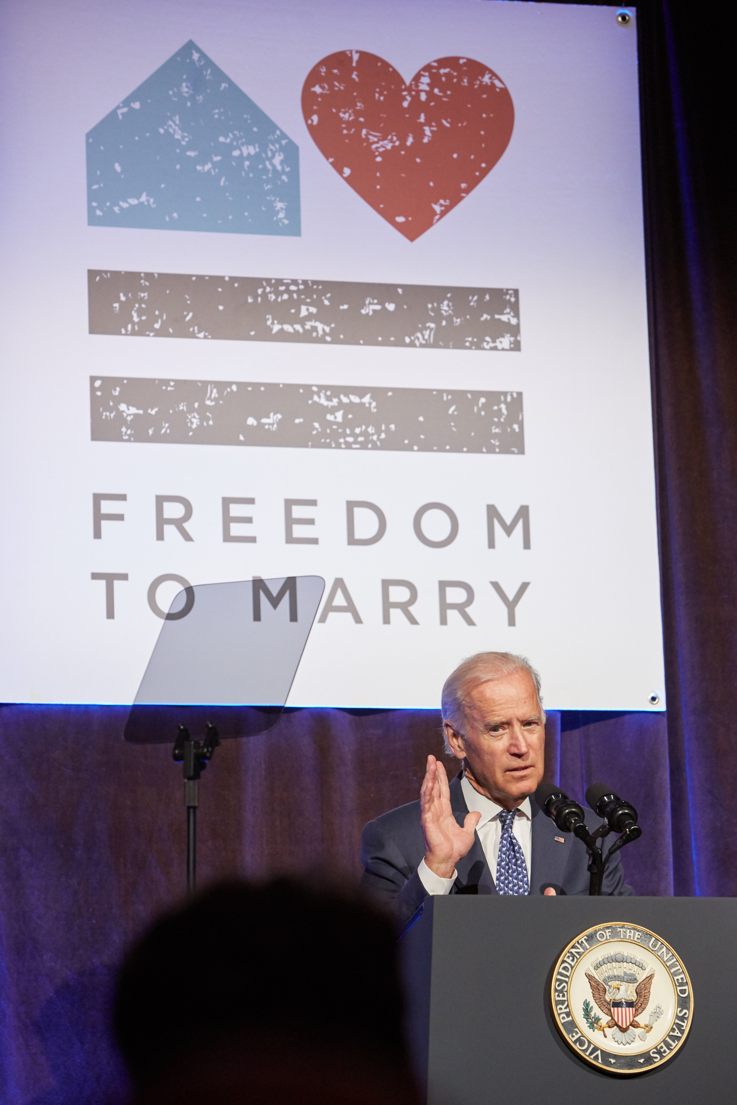 Vice President Biden spoke about the watershed Supreme Court victory for marriage at Freedom to Marry's Celebration Event on July 9, 2015.