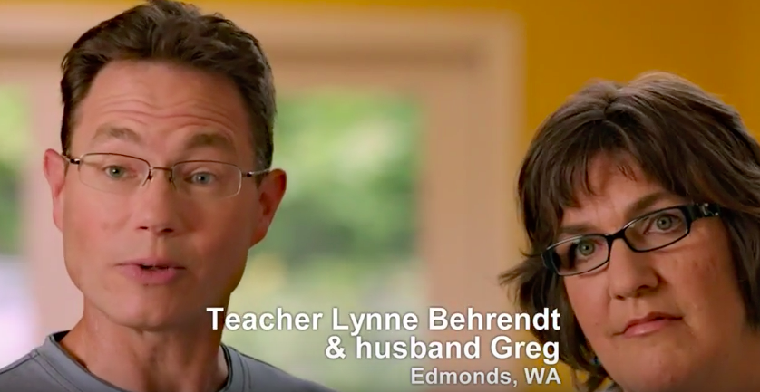 Lynne and Greg Behrendt
