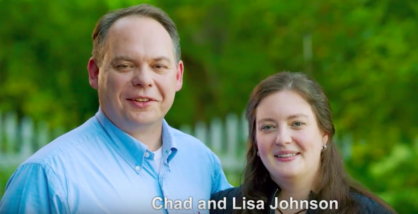 Chad and Lisa Johnson For Washington United For Marriage