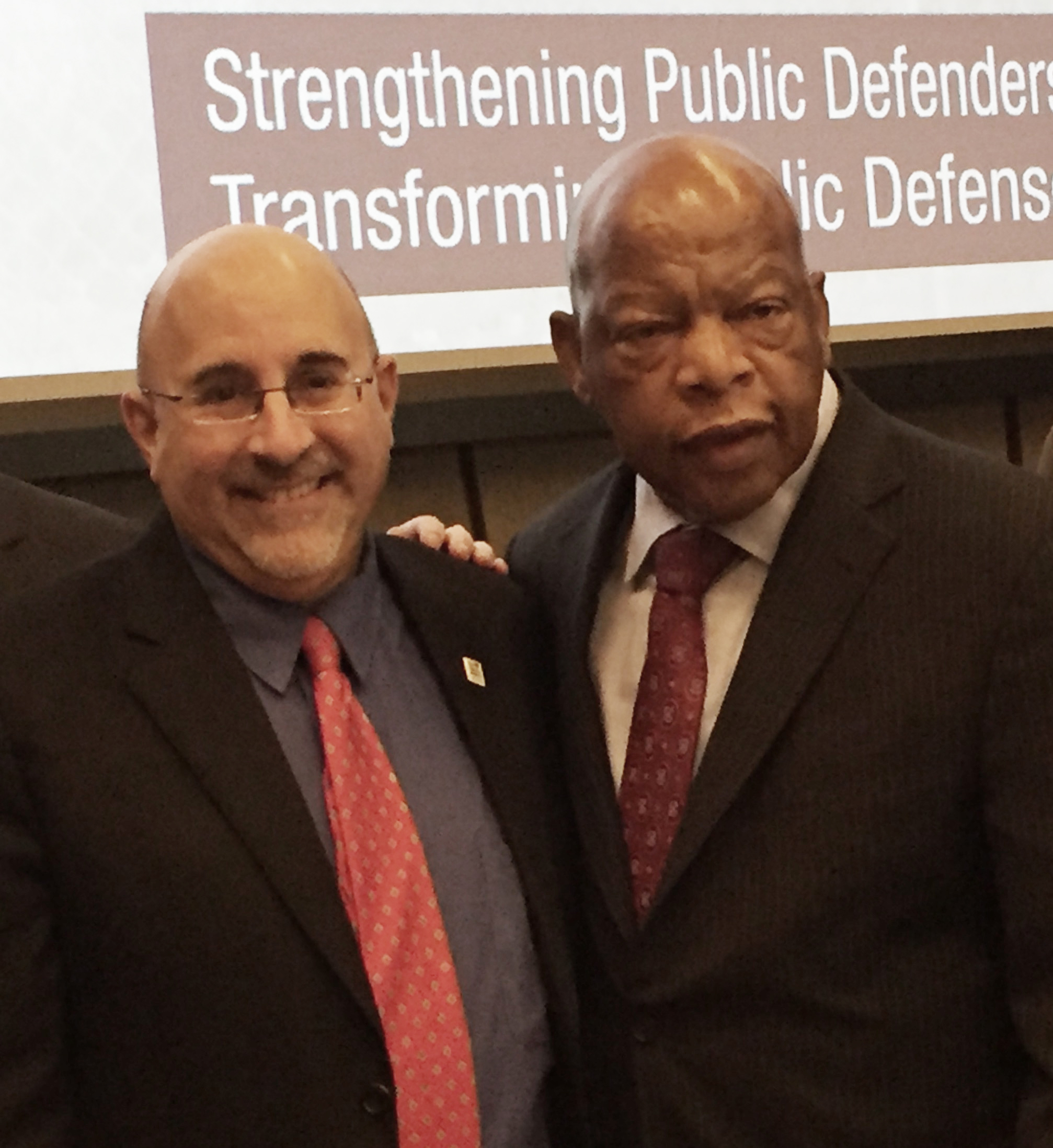 Congressman John Lewis and Evan Wolfson