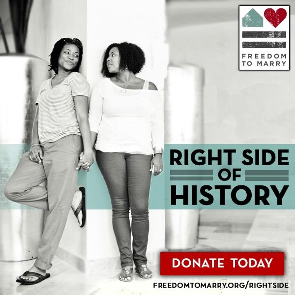Freedom to Marry's Right Side of History campaign, November 2012