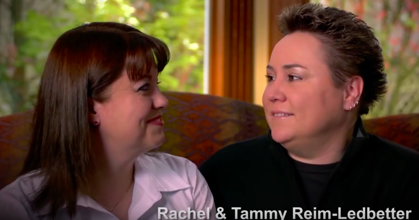 Tammy and Rachel Reim-Ledbetter
