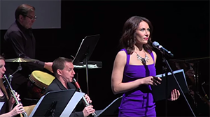 Laura Benanti performs live a new Andrew Lippa song