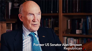 Sen. Alan Simpson Supports the Freedom to Marry