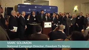 Mayors for the Freedom to Marry Launch