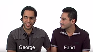 George and Farid