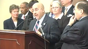 Freedom to Marry's President Evan Wolfson speaks at a press conference for the introduction of the Respect for Marriage Act.