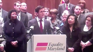 Sean Eldridge, Political Director of Freedom to Marry, urges passage of Maryland marriage bill