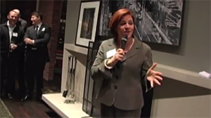 New York City Council Speaker Christine Quinn at NYC Reception