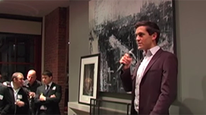 Sean Eldridge, Political Director of Freedom to Marry, at NYC Reception