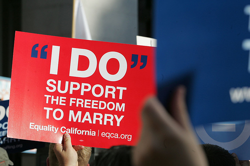 The ballot loss in California  which stripped same sex couples of the freedom to Freedom to Marry