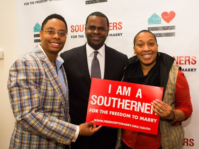 Southerners for the Freedom to Marry, which brought together more than a dozen state organizations based in the South, launched in Atlanta in February 2013.
