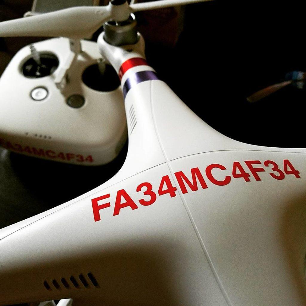 register my drone