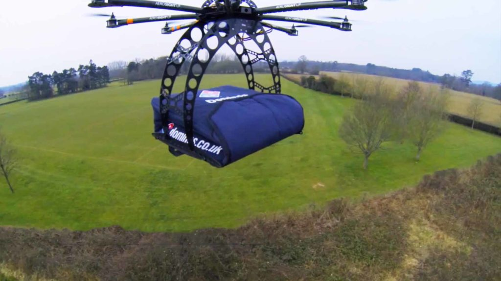 Beyond line-of-sight flying has been ruled out by Part 107, so don't expect drone delivery services to take off any time soon.