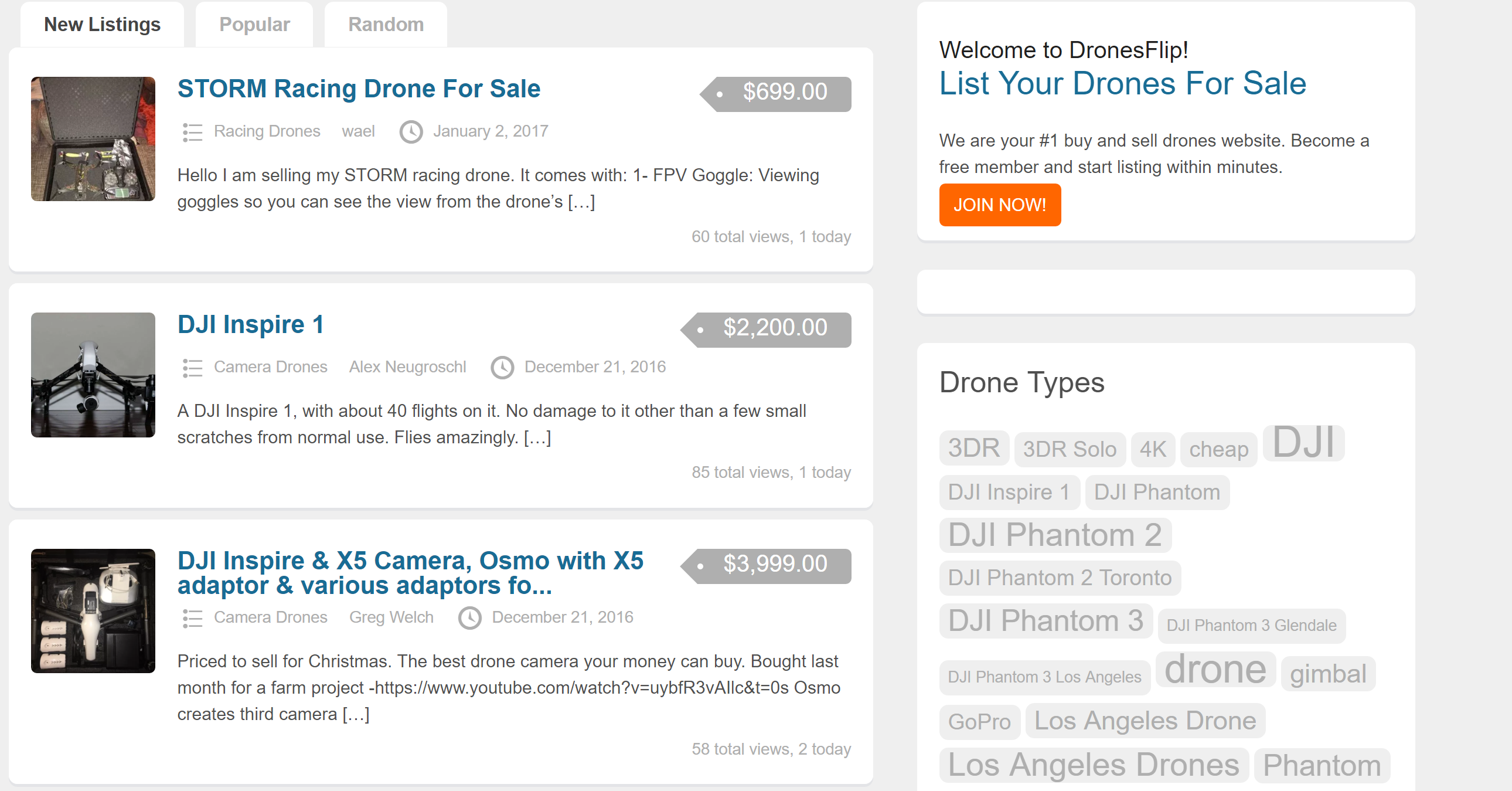 dronesflip sell your drone marketplace