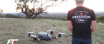 giant drone racing freedom class