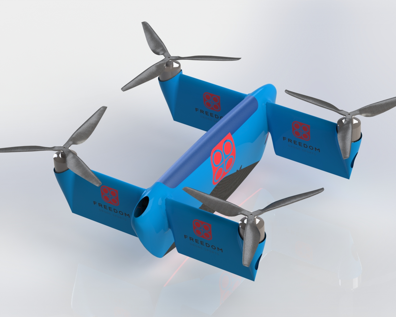 freedom class racing drone giant