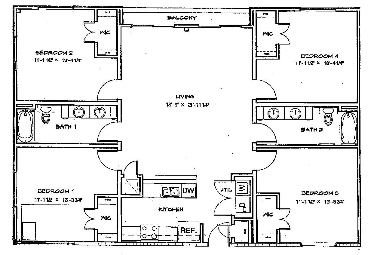 affordable studio 1 2 3 4 u0026 5 bedroom student apartments in