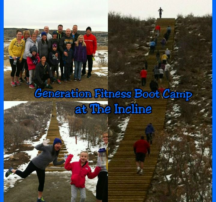 Generation Fitness Boot Camp at the Castle Rock Incline