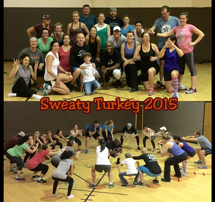Sweaty Turkey Boot Camp in Castle Rock 2015