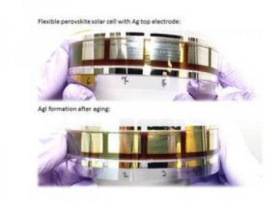 Improving silver electrodes for low-cost perovskite solar cells