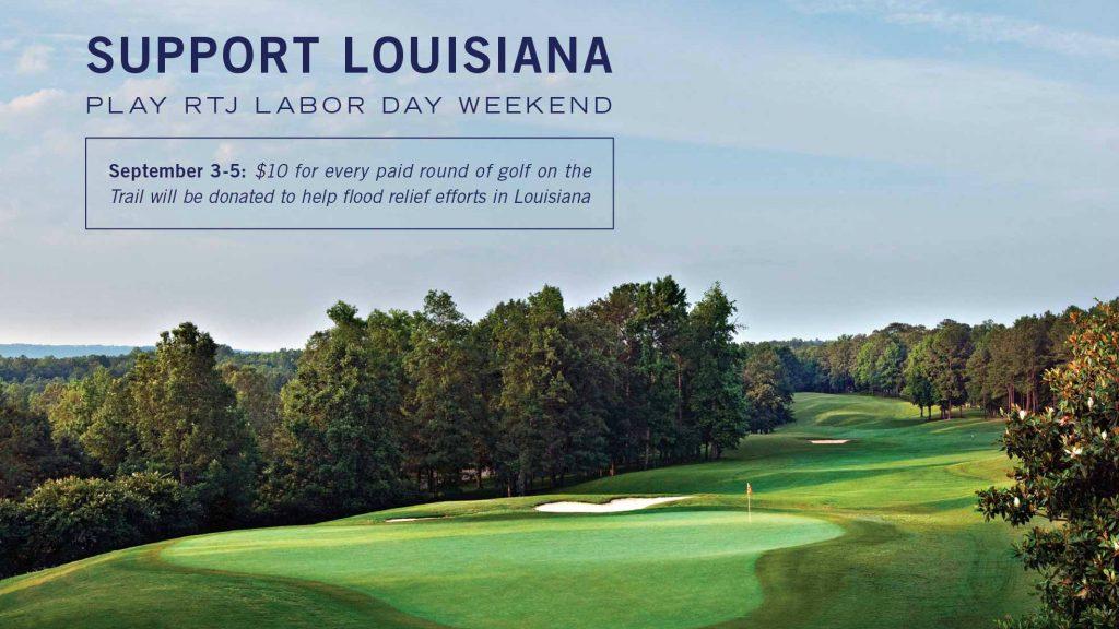 Labor Day Golf for Louisiana – RTJ Golf