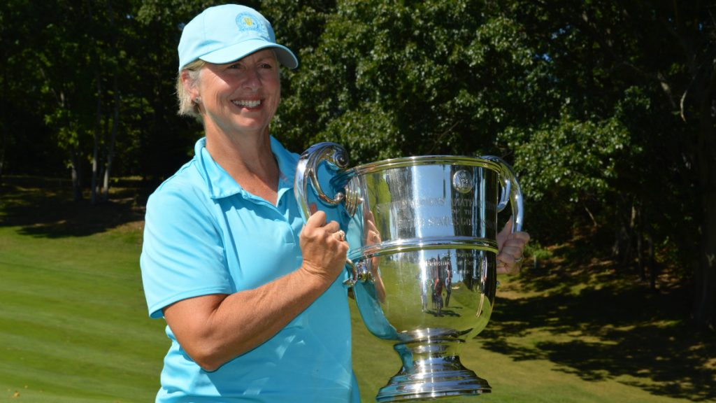 Port Defeats Kraus in Final of 55th U.S. Senior Women's Amateur at Wellesley Country Club