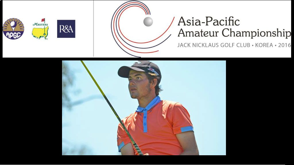 Australia's Curtis Luck Wins the 2016 Asia-Pacific Amateur Championship in Korea