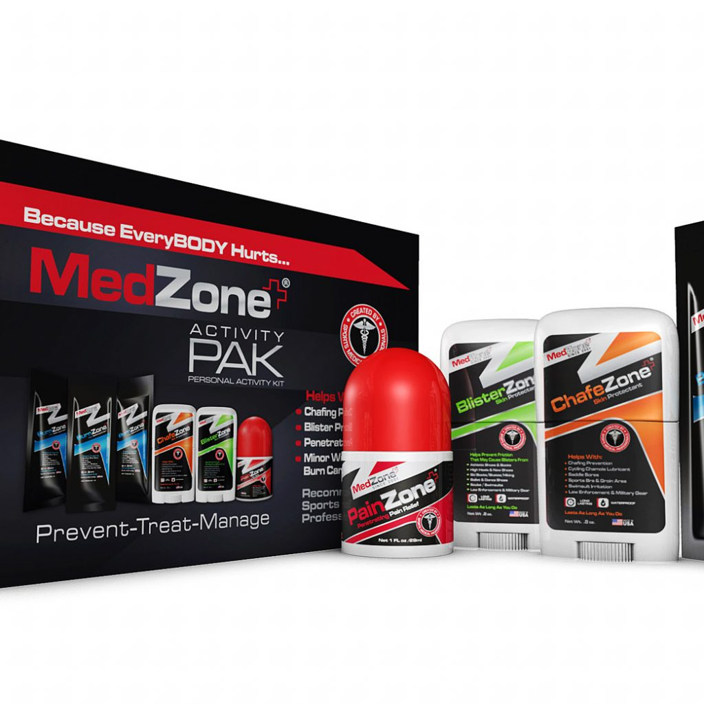 MedZone Launches New Activity PAK with Sports Medicine Products For Golfers