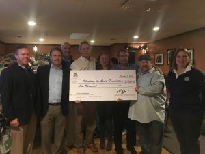 The New England PGA donated to a local charity in Worcester, Mass.
