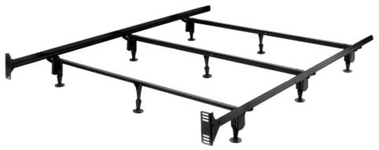 Leggett and Platt King-size Heavy Duty Metal Bed Frame with Headboard Brackets at Sears.com
