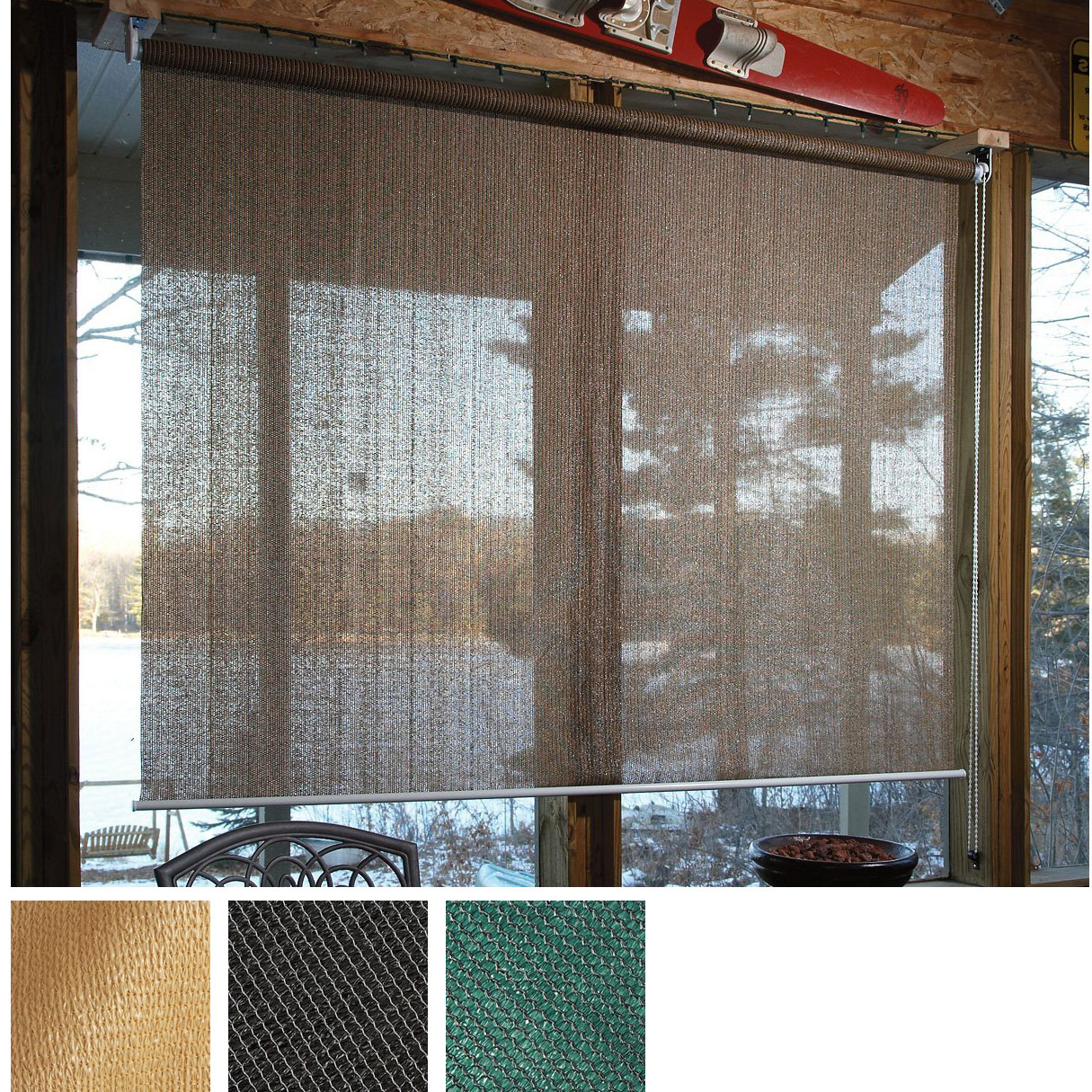 Window Shade Roll