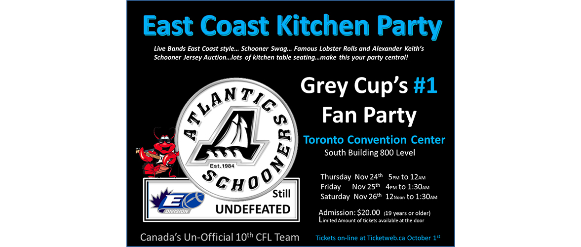 Photo for event ATLANTIC SCHOONERS DOWN EAST KITCHEN PARTY - November 24th