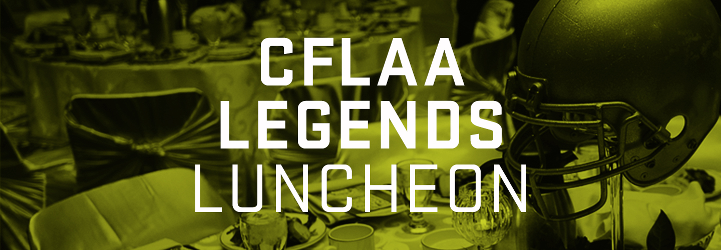 Photo for event CFLAA LEGENDS LUNCHEON