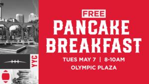 Grey Cup Pancake Breakfast
